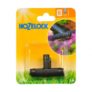 Hozelock 13mm T piece (Pack of 2)