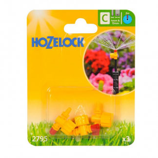Hozelock 360º Adjustable Micro Jets (Pack of 3)