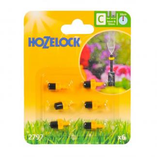 Hozelock Mist Micro Jets (Pack of 6)