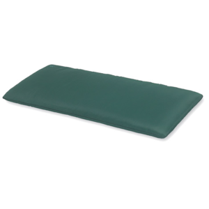Two Seat Bench Cushion in Green