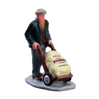 Lemax Figure of a Market Worker