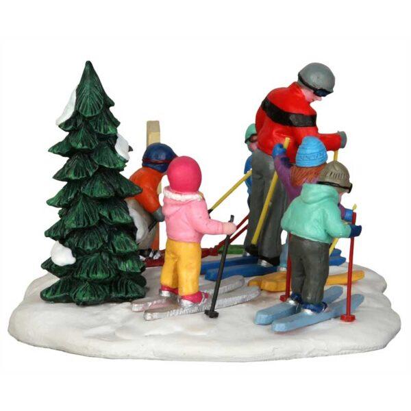 Lemax Ski School Figure Group