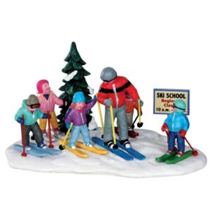 Lemax Ski School Figure Group