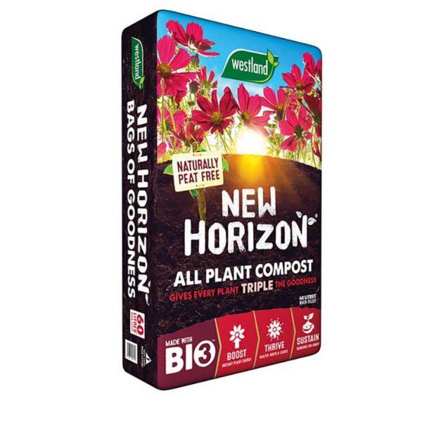 New Horizon Peat Free Organic All Plant Compost 60L
