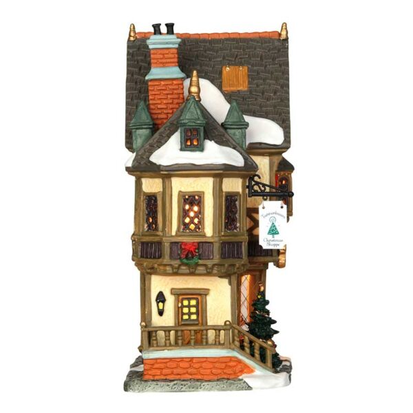 Lemax Tannenbaum Christmas Shoppe - Side View