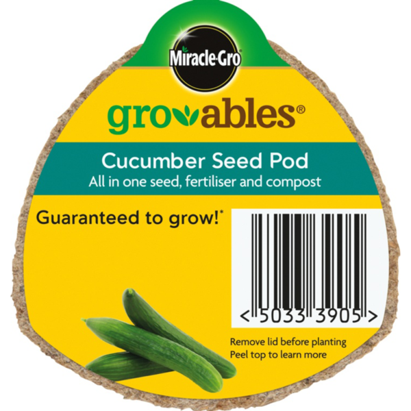 Miracle-Gro Groables Cucumber Seed Pod (20g)