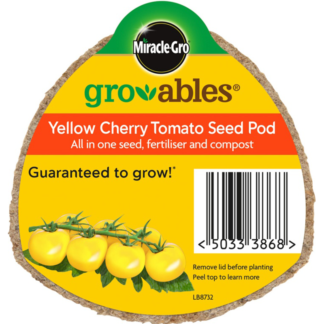 Miracle-Gro Groables Yellow Cherry Tomato Seed Pod (20g)