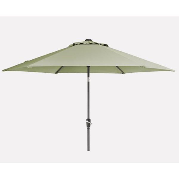 3.0m Wind-Up Parasol in sage