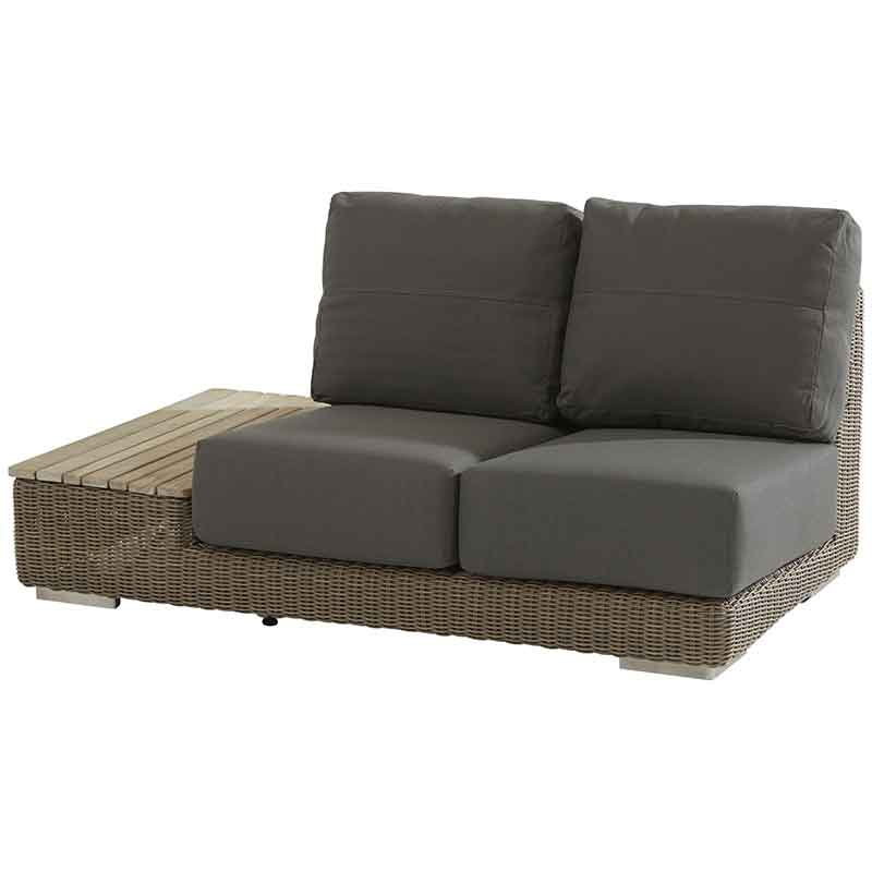 4 Seasons Outdoor Kingston Right Island with 4 cushions