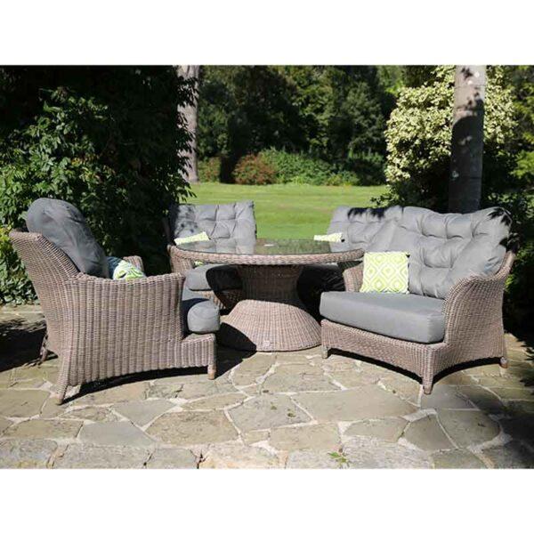 4 Seasons Outdoor - Valentine Relaxing Garden Lounge Suite in Praia