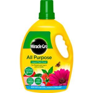 Miracle-Gro All Purpose Concentrated Liquid Plant Food (2.5 litre)