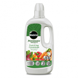 Miracle-Gro Performance Organics Fruit & Veg Concentrated Liquid Plant Food (1 litre)