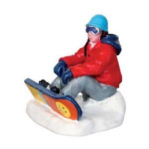 Lemax Snowboarding Breather Figurine