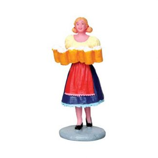 Lemax Brew Maid Figure