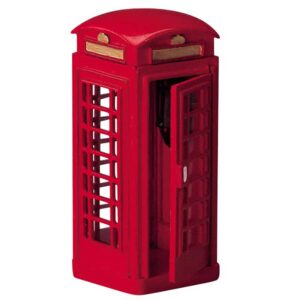 Lemax Red Telephone Box