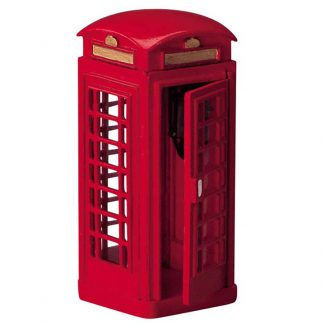 Lemax Red Telephone Box