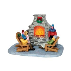 Lemax Outdoor Fireplace