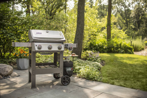 The Weber Spirit II S-320 GBS Gas Barbecue - Stainless Steel (Fuel & covers sold separately)