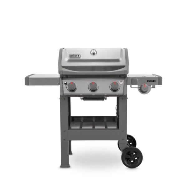 Weber Spirit II S-320 GBS Gas Grill Barbecue (Stainless Steel)