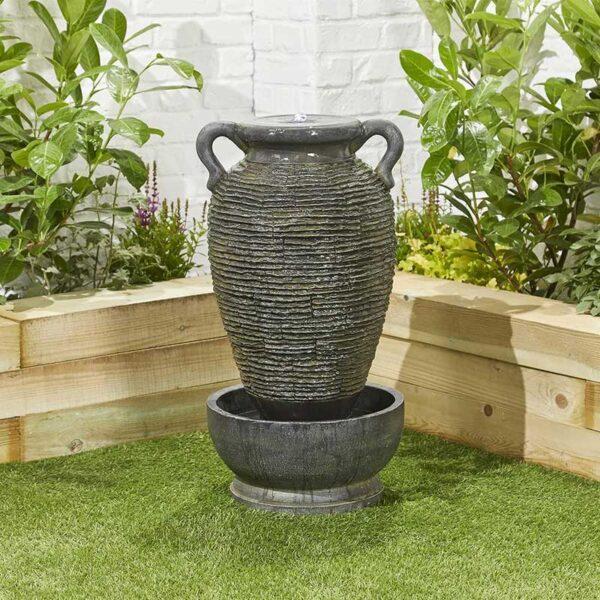 Kelkay Rippling Vase Water Feature