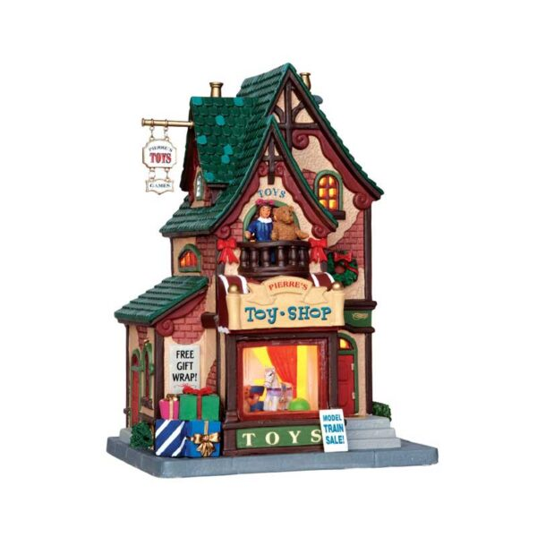 Lemax Pierre's Toy Shop Lighted Building