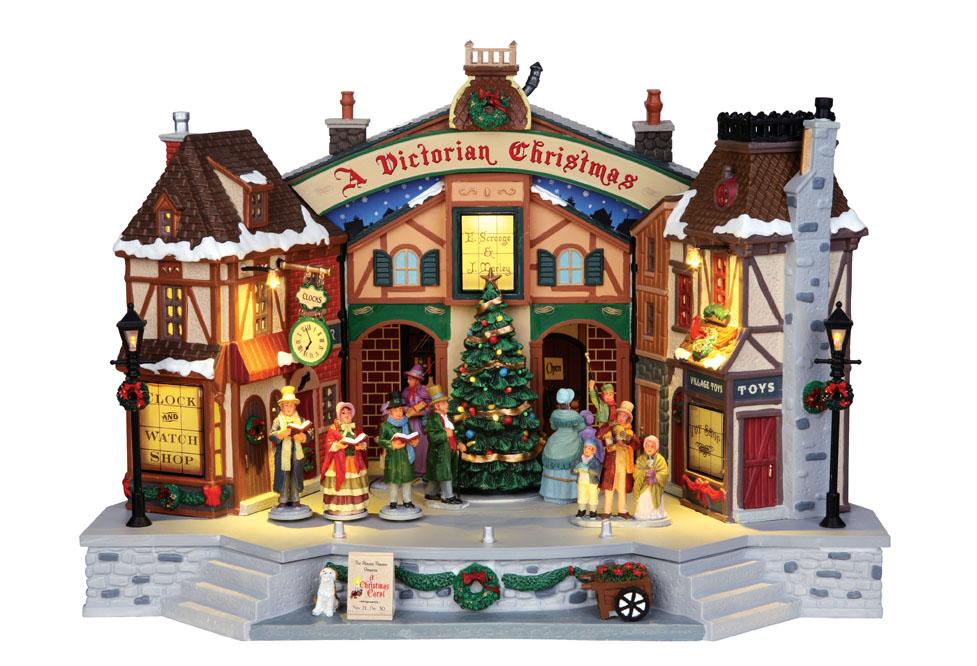 Lemax Christmas.Lemax A Christmas Carol Play