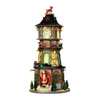 Lemax Christmas Clock Tower