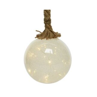 Micro LED Warm White Ice Ball with Rope