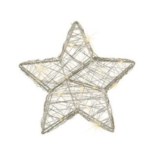 micro LED wire star indoor bo
