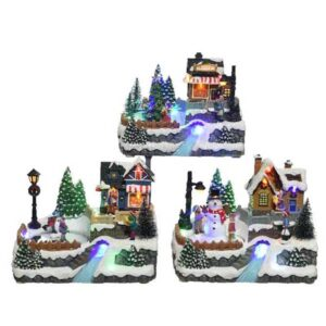 Lumineo Christmas Villages LED Winter Scenery (3 Variety's)