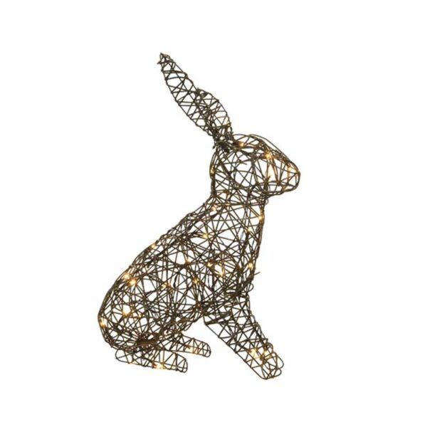 LED wicker rabbit out bo