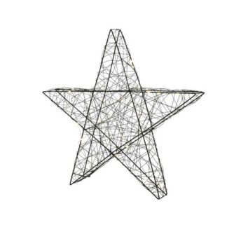 Big & Bright Micro LED Wire Star Figure (with Batteries)