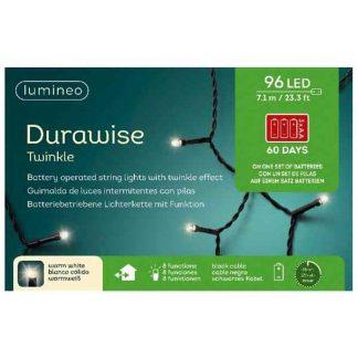Lumineo String of 96 Warm White Durawise LED Lights