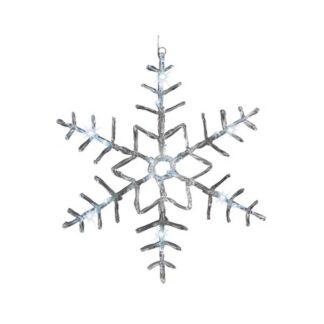 LED Cool White Acrylic Snowflake