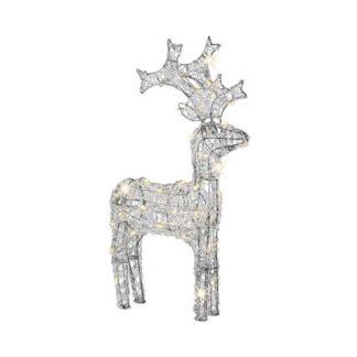 LED Warm White 60cm Acrylic Reindeer