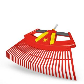 Wolf Garten multi-change 4-in-1 Leaf Rake (with 3 working widths)