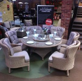 4SO Buckingham 6 Seat Dining Set