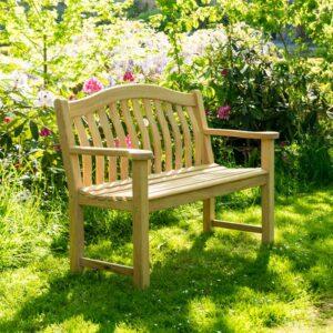 4ft Alexander Rose Roble Turnberry Garden Bench