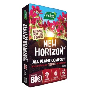 50 litre pack of Westland New Horizon Peat Free All Plant Compost