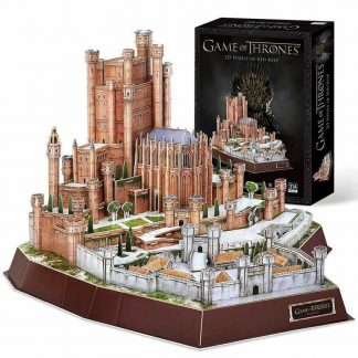 Game of Thrones 3D Puzzle of The Red Keep by House of Puzzles
