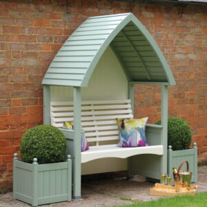 AFK Cottage Arbour Sage & Cream