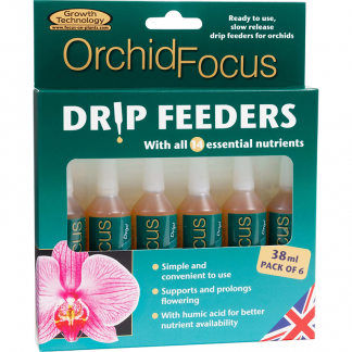 Growth Technology Orchid Focus Drip Feeders 38ml x 6