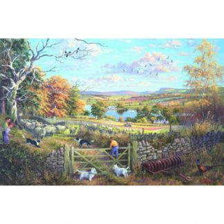 House of Puzzles Counting Sheep 1000 Piece Jigsaw Puzzle