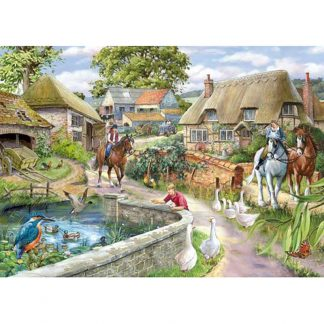 House of Puzzles Bridle Path 1000 Piece Jigsaw