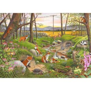House of Puzzles Midsummer Twilight 250 Big Piece Jigsaw Puzzle