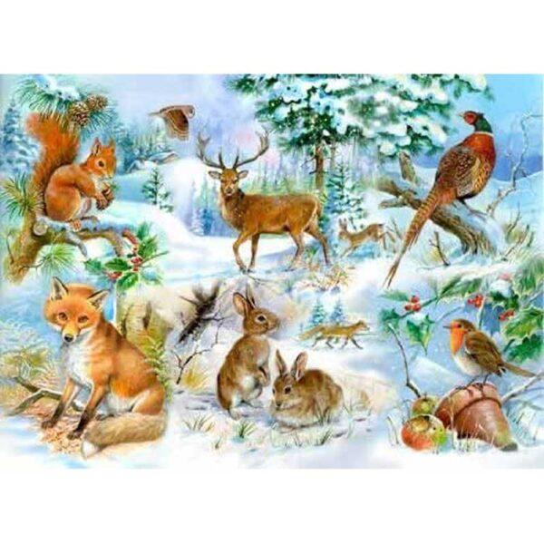 House Of Puzzles Midwinter Jigsaw Puzzle - Big 250 Piece