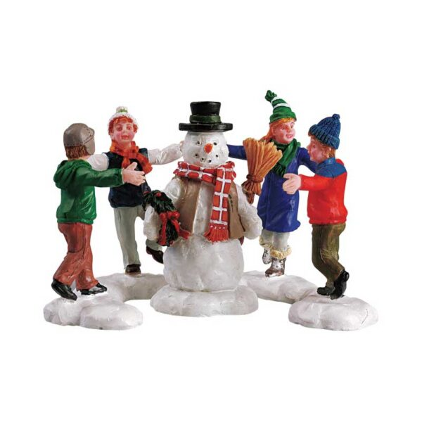 Lemax Ring Around The Snowman - Set of 3 Pieces