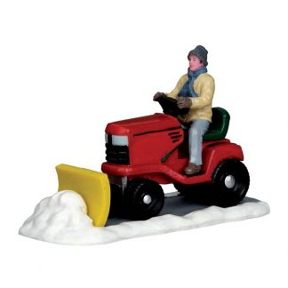 Lemax Ride-On Snowplow