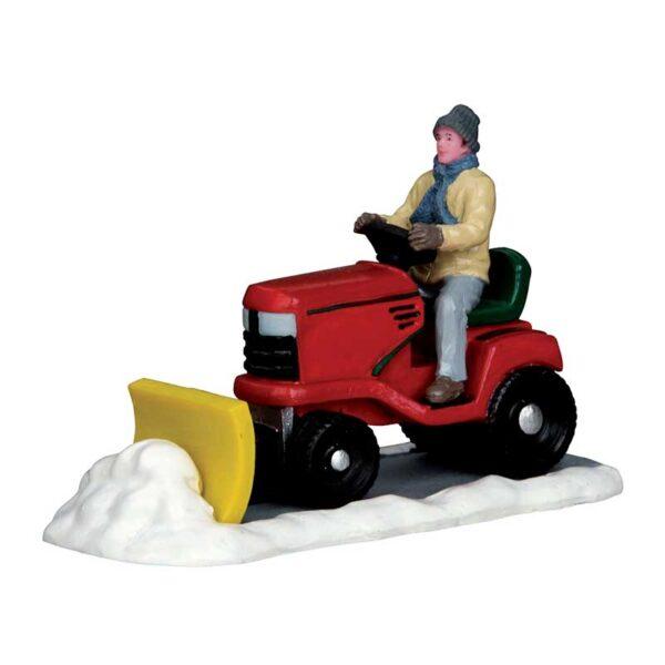 Lemax Ride-On Snowplow