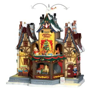 Lemax Holiday Hamlet Christmas Shoppe